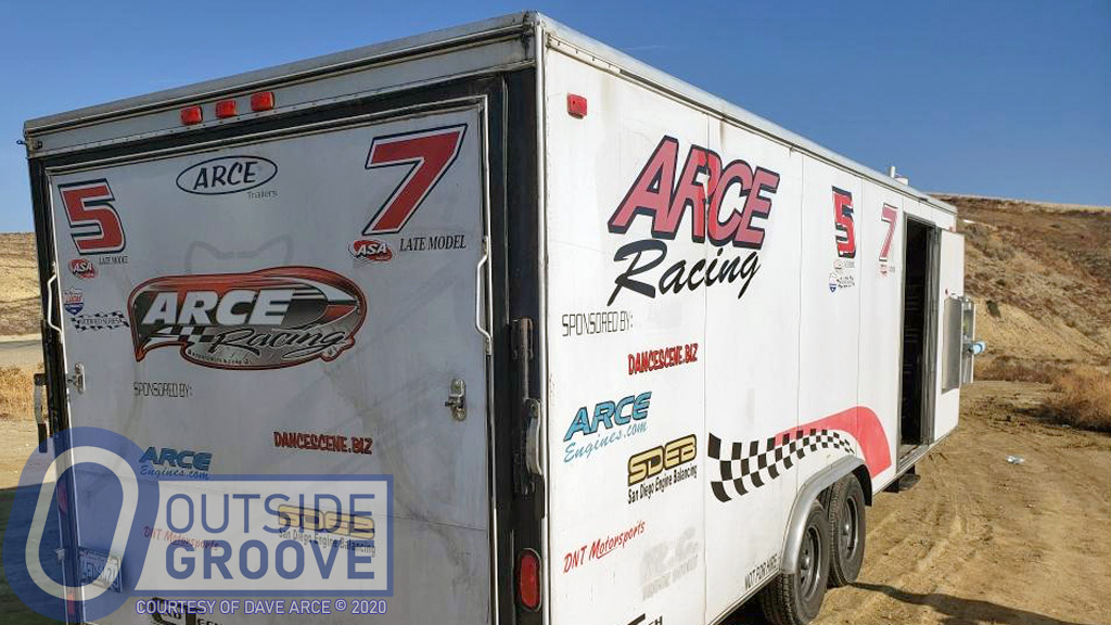 Dave Arce: Truck and Trailer Stolen Before Race