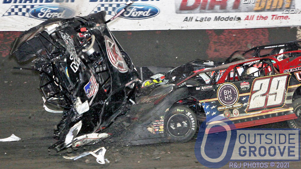 Freddie Carpenter: Wrecked Tues., Will Be Back Thurs.