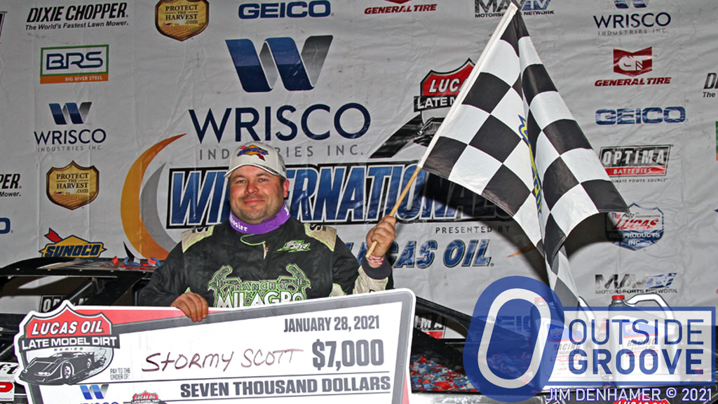 Stormy Scott: His First Late Model Win