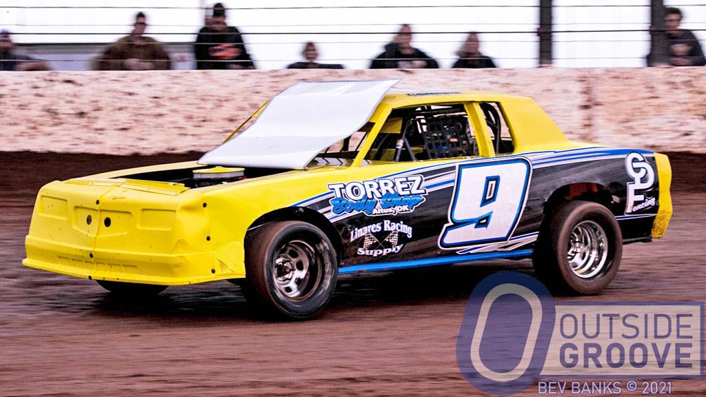 Carter Torrez: An Open Hood Won't Stop This Racer