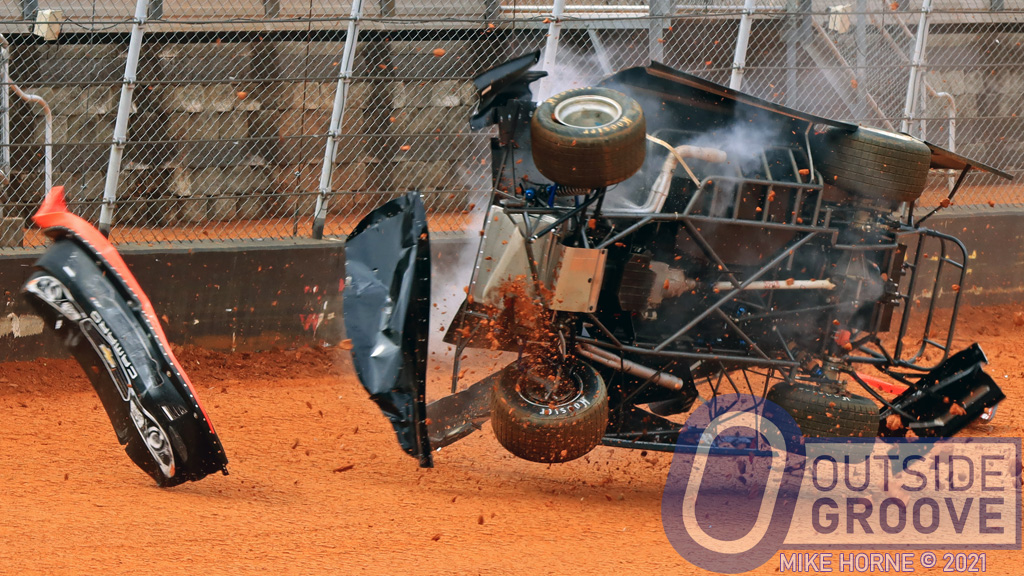 Marty Carrier: New Car Destroyed, But Still Had a Blast