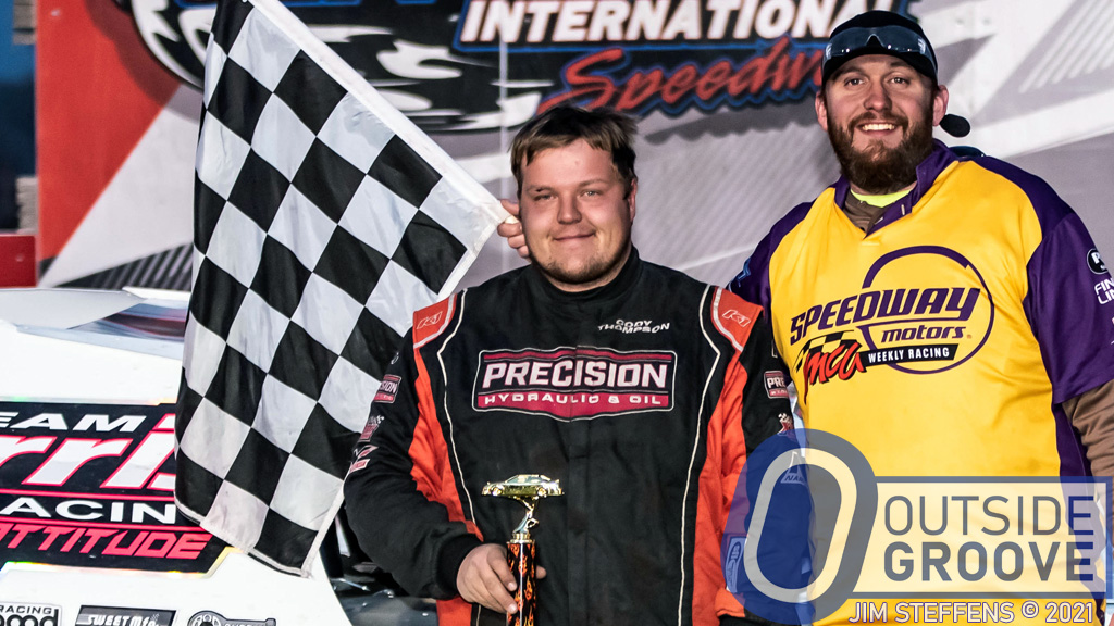 Cody Thompson: Conversation Leads to First Win