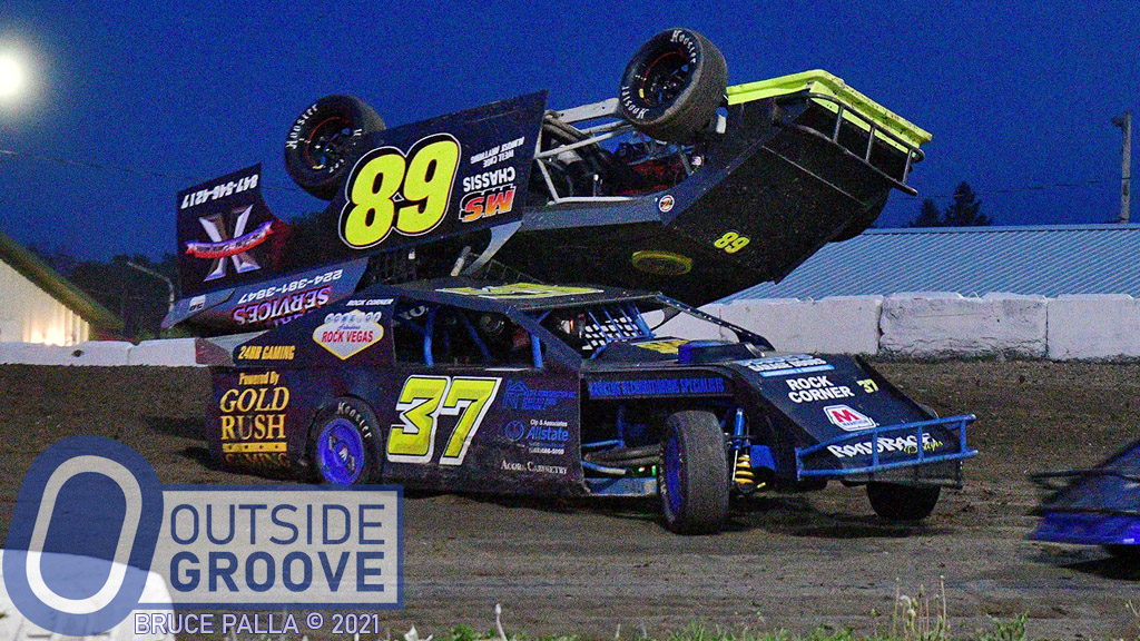 Tom Neubauer: Landed Upside-Down … On Another Car