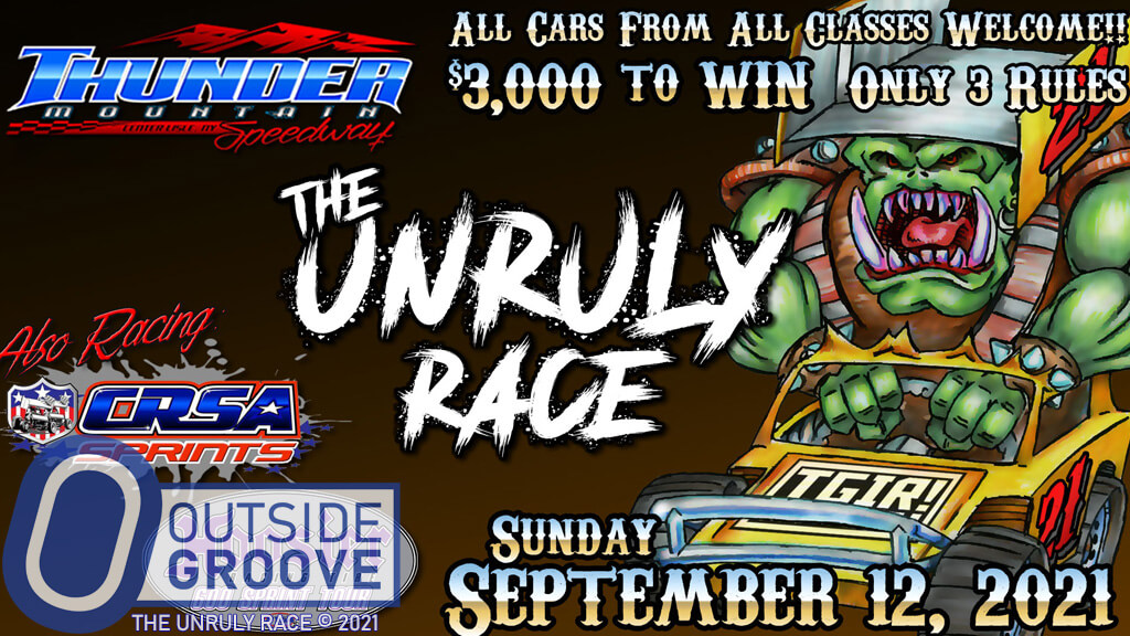 The Unruly Race: Three Rules, $3,000 to Win