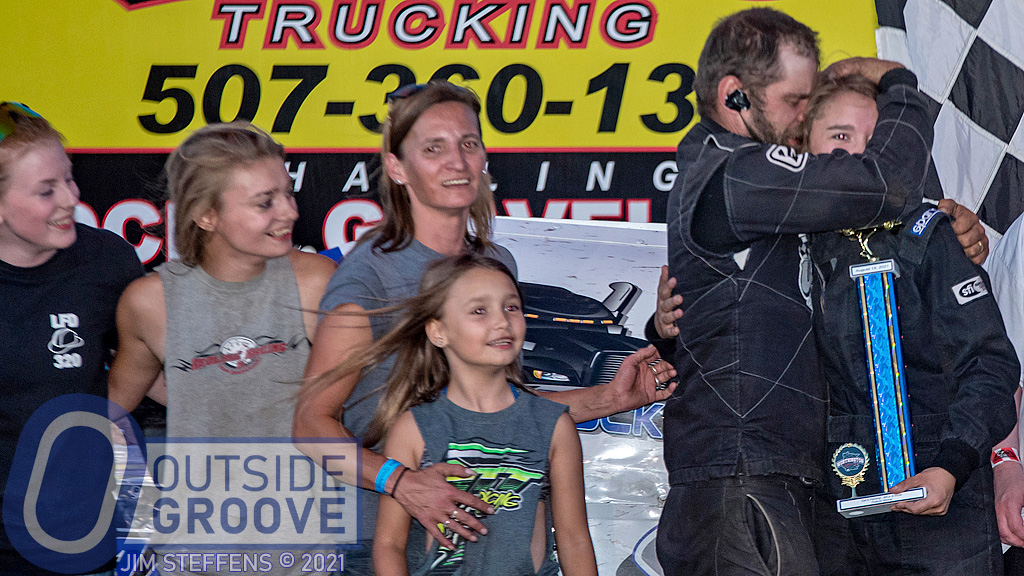 Alissa Palsrok: First Victory and a Proud Dad