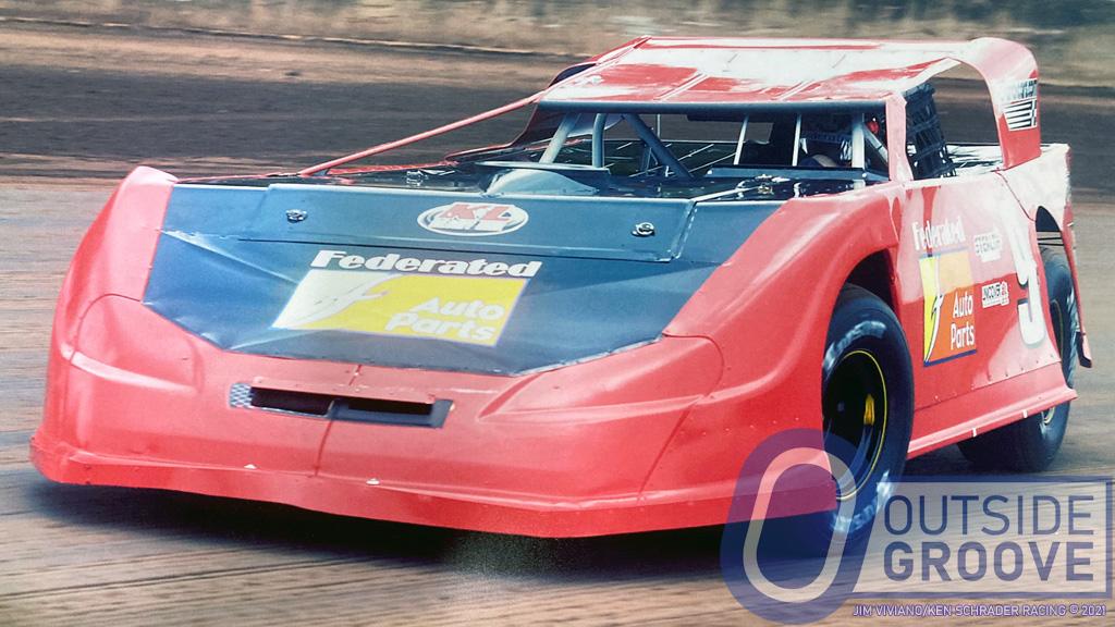 Ken Schrader Wins With 29-Year-Old Car