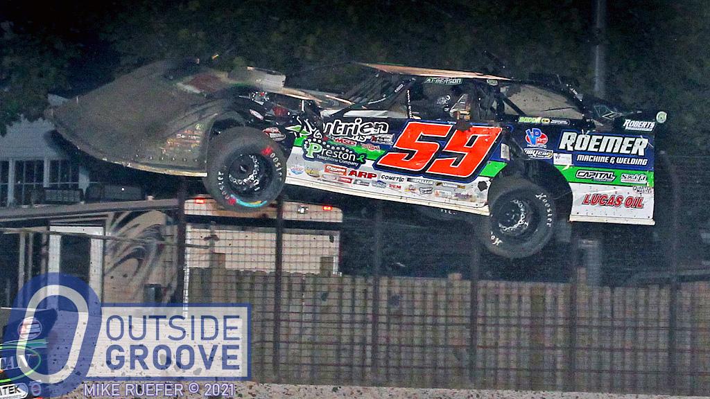 Garrett Alberson: New Car Destroyed